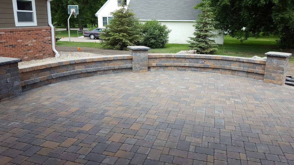 patio made of pavers