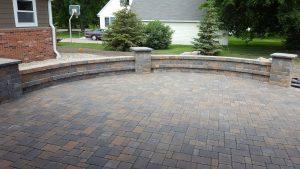 patio made of pavers