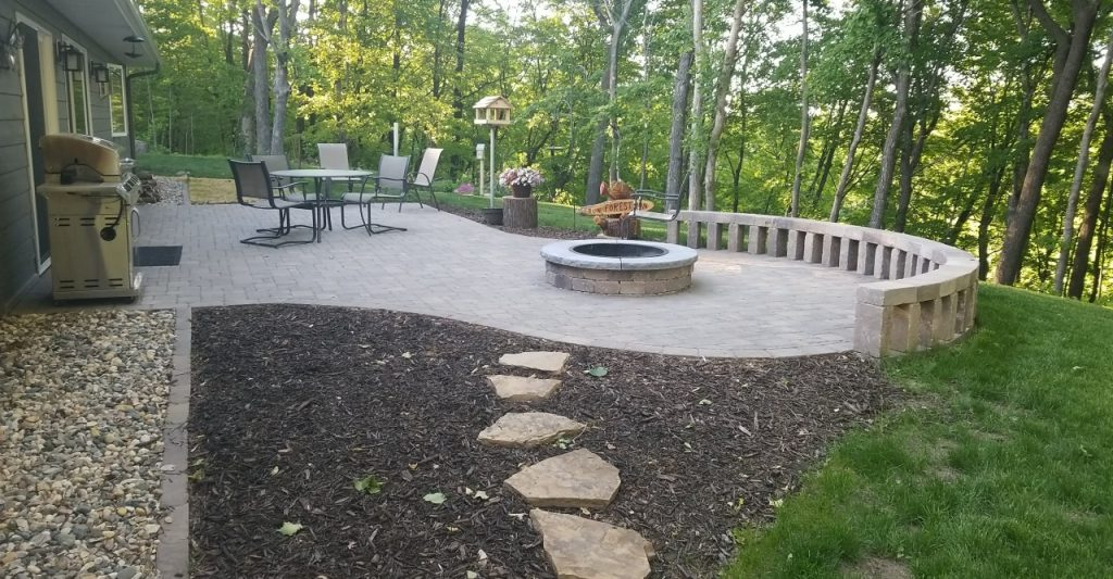 landscape patio